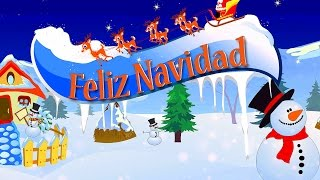 Feliz Navidad | Full Carol With Lyrics | Best Christmas Carols For Kids