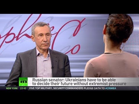 'West ignited Ukraine's fire, now wants to pin crisis on us' - Russian Senator