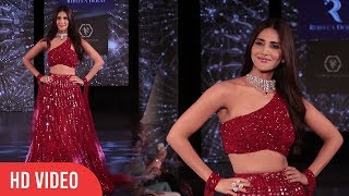 WAR Actress Vaani Kapoor Walks The Ramp At The Wedding Junction Show 2019