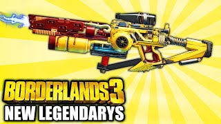 Borderlands 3 - ALL 9 NEW  Limited Legendary Weapons YOU NEED TO GET!