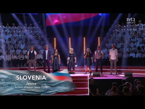 Slovenia - LIVE - Jazzva - Spomenčice - Semi-Final - Eurovision Choir 2019 (HQ)