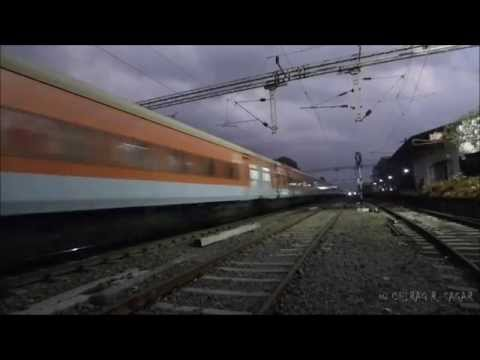 LHB TRAINS IN INDIA ! HIGH SPEED INDIAN RAILWAYS