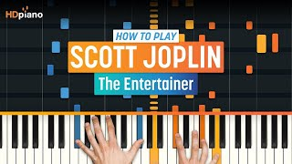 How To Play 34 The Entertainer 34 By Scott Joplin Hdpiano Part 1 Piano Tutorial