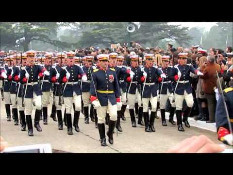 Cadetes del Colegio Militar de la Naci�n 19 de mayo de 2012