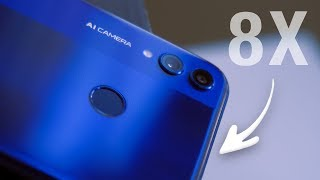 Test Honor 8X (2018)