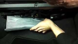 (* VW Golf 5 *)( Замена салонного фильтра )( How to Cabin Air Filter Replacement