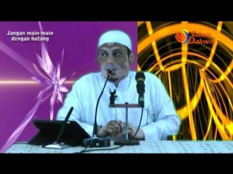 Jangan Main-Main Dengan Hutang - Ustadz Ahmad Zainuddin,Lc