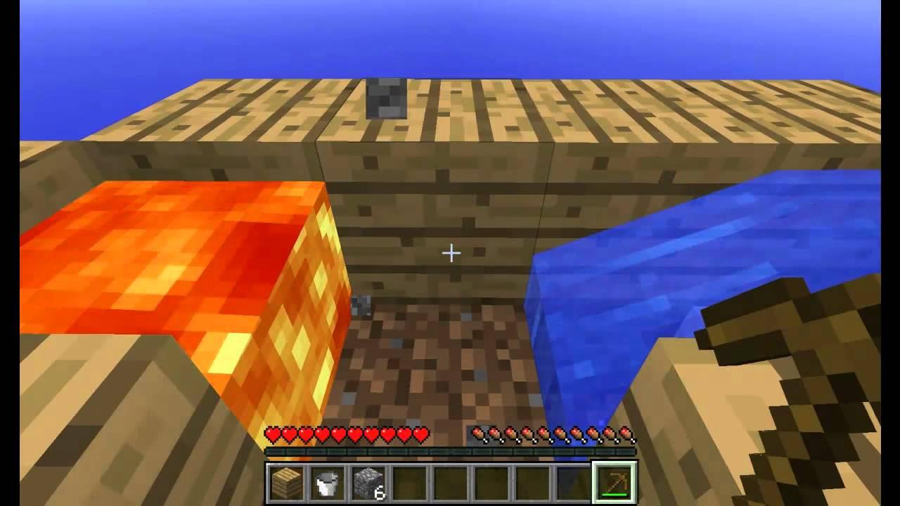 Как сделать добыватель в minecraft