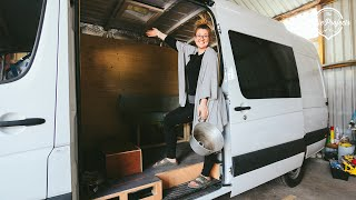 How To Make A Custom Sink For Your DIY Campervan Conversion!