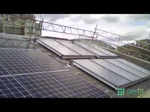 The Passage - London Solar PV and Solar Thermal Installation