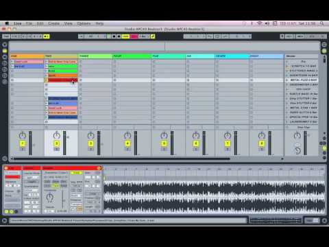 Ableton LIve - Preparing your set for the APC40 / Launchpad