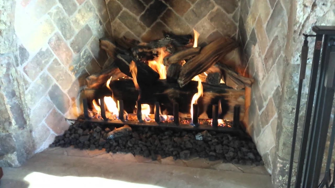 60 Quot Firerock Masonry Fireplace With 48 Quot Eiklor Mombo Gas
