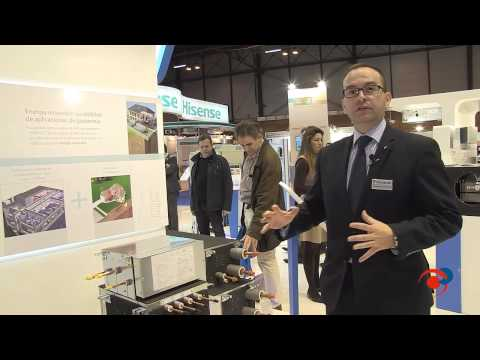 Daikin presenta soluciones en aire acondicionado, refrigeración, calefacción y frío industrial