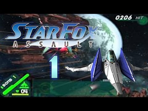 Let's Play Starfox Assault [German/100%] Mission 1 - Das Starfox-Team tritt an!