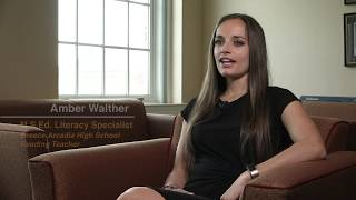School of Education Graduate Profile: Amber Walther