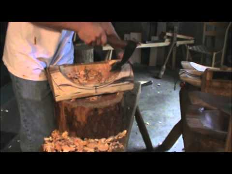 making wooden bowls