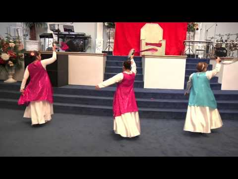 Danza de Damas Yeshua Ha Mashiach