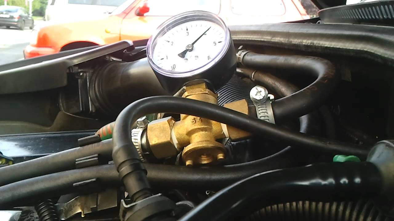 Fuel Pressure Audi A4 B5 Petrol Test Youtube