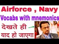 Important Vocabs for Airforce (GroupX,Y,X+Y) and Navy Exam thumbnail
