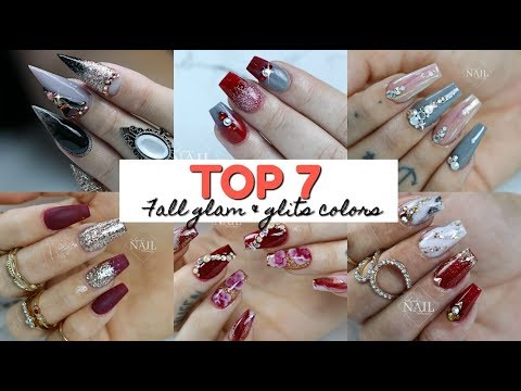 GLAM AND GLITS | TOP 7 FALL COLORS