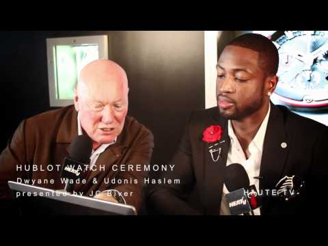 Haute Time Presents Hublot VIP Event With Miami Heat's Dwyane Wade & Udonis Haslem