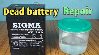 How to repair a dead battery