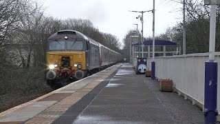 57302 works 5z90 Pendo 390152 drag  - Carlisle to GLC at Kilmaurs 7-02-16