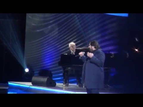 Шарип Умханов(Шариф)- Два стрижа/Юбилейный концерт Раймонда Паулса.Крокус Сити Холл.26.02.2016