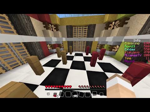 EL PENE DE UN NEGRO CON EXIDAX, ROVI23, JAVO Y MLLAMASHD - Minecraft Blitz Build