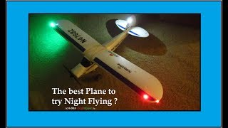 Old Foamie airplanes make great Night Flying Trainers!
