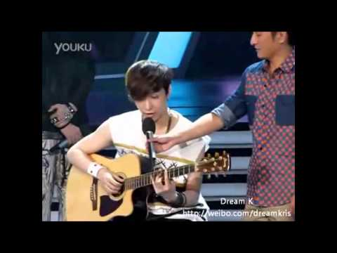 Zhang Yixing (Lay of Exo-M) Guitar Playing Compilation