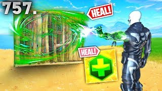 *NEW* HEALING WALL TRICK! - Fortnite Funny WTF Fails and Daily Best Moments Ep. 757