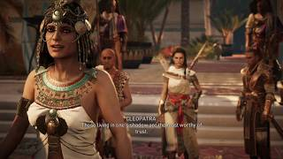 Assassin's Creed Origins New Game Plus III Part 8 (The Lizard's Face, The Hyena Part 1)