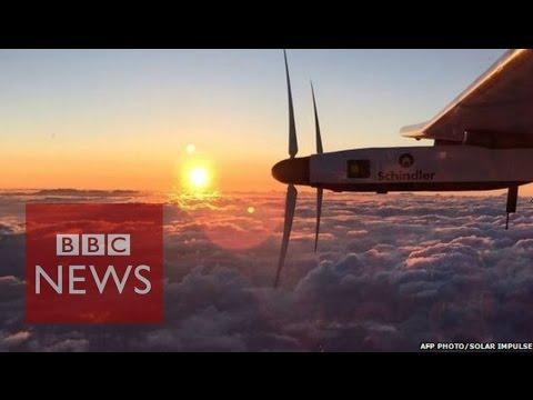Solar Impulse: 'No going back' in flight across Pacific - BBC News