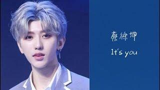 蔡徐坤-It's you (Cai XuKun/채서곤) [가사/lyrics]