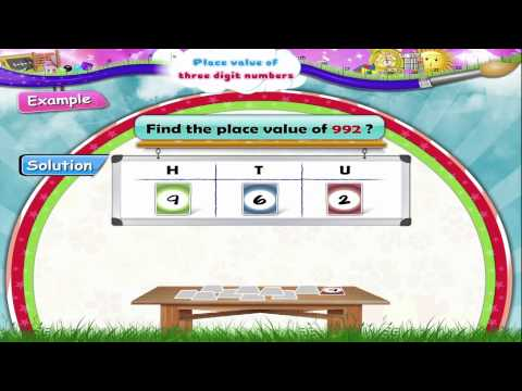 Std 2 - Maths - Place Value of Three Digit Number