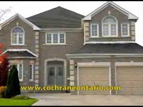 town of cochrane, ontario appreciating property values