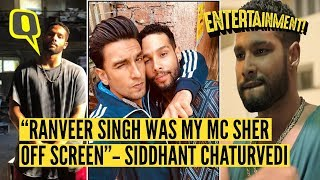 Getting to Know Siddhant Chaturvedi aka 'MC Sher' From Gully Boy | The Quint