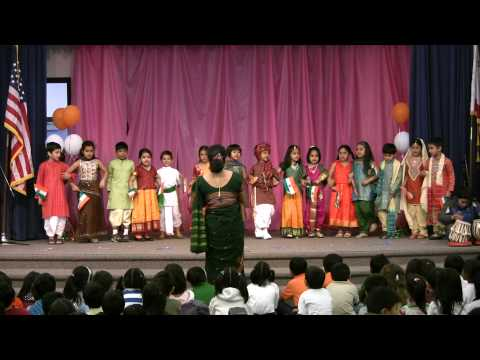 Hum Honge Kamyab International Day 2010 Garden Gate School Cupertino...