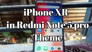 100% IOS on Xiaomi Redmi Note 5 pro without root | iPhone XR | IOS 11 in Redmi phones |🤔