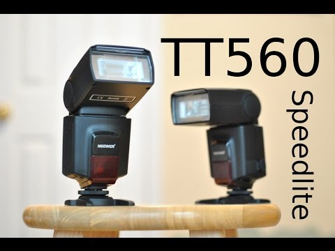Neewer Week Day 1: Neewer TT560 Speedlite Review