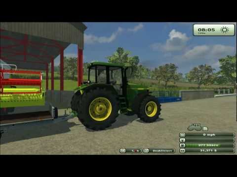 farming simulator 2013 Oak Farm more harvesting
