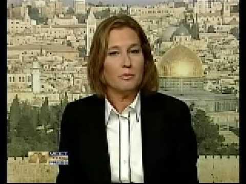 Israeli Foreign Minister Tzipi Livni on Gaza Bombing-MTP 12.28.08