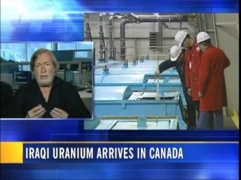 US Military Sends Uranium from Iraq to Canada