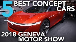 Top 5 Best Concept Cars of the 2018 Geneva Motor Show