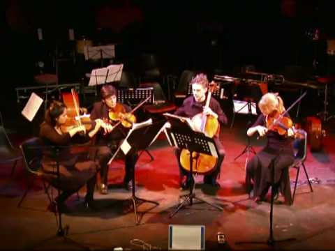 "IANCU DUMITRESCU "" Spectrum"" for string quartet (part 1/2)"