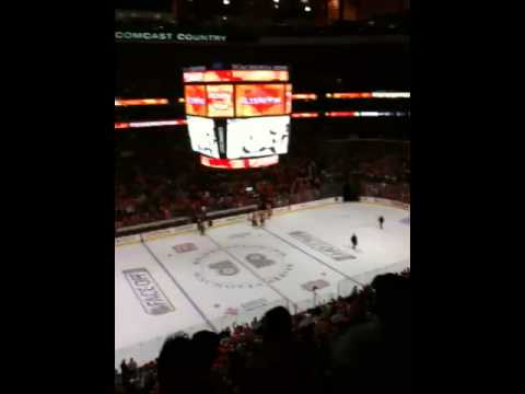Philadelphia Flyers vs Washington Capitals