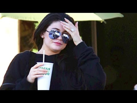 Kylie Jenner Shows Off Her Massive Ring From Tyga