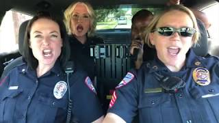Ladies of the San Angelo Police Department lip-sync challenge