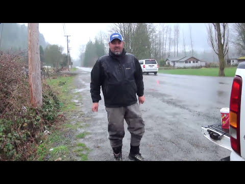 Fishing With Bent Rod - Chilliwack/Vedder River Steelhead - Boot Laces
